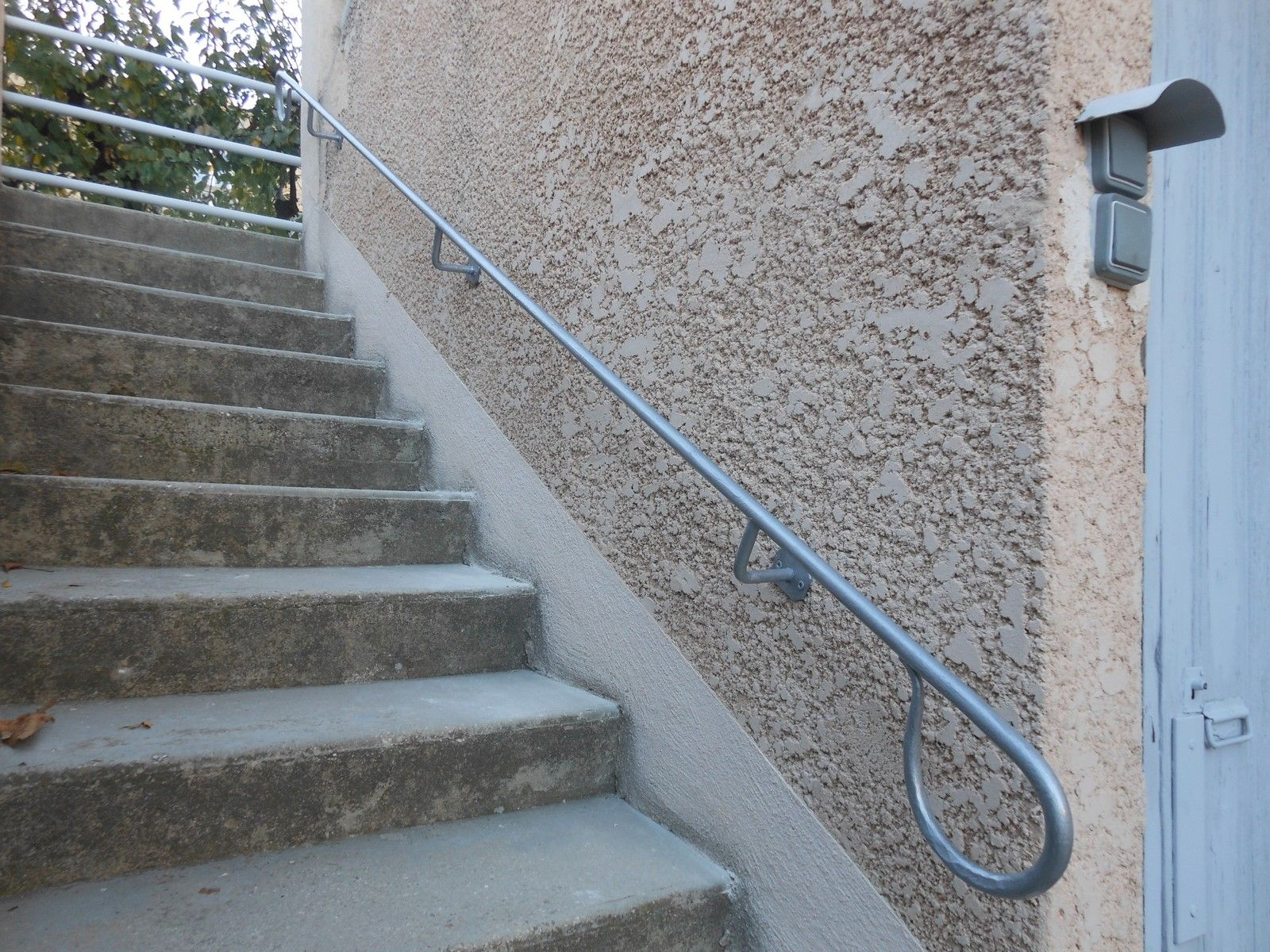Main Courante Sur Mesure Pour Escalier Ext Rieur Salon De Provence 13 Freestyle Forge
