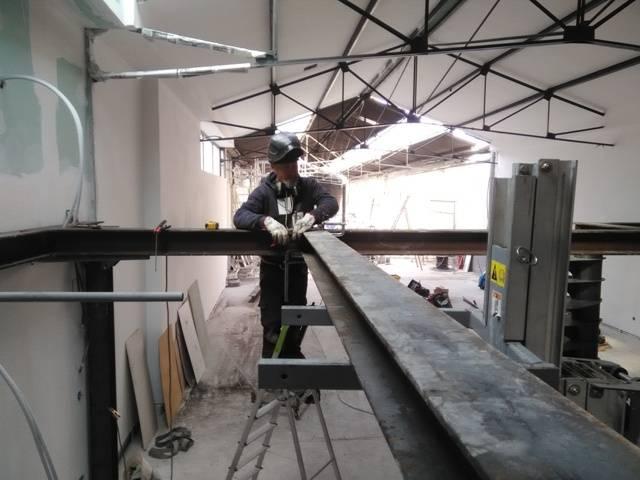 conception et pose d 39 une mezzanine en acier freestyle forge. Black Bedroom Furniture Sets. Home Design Ideas