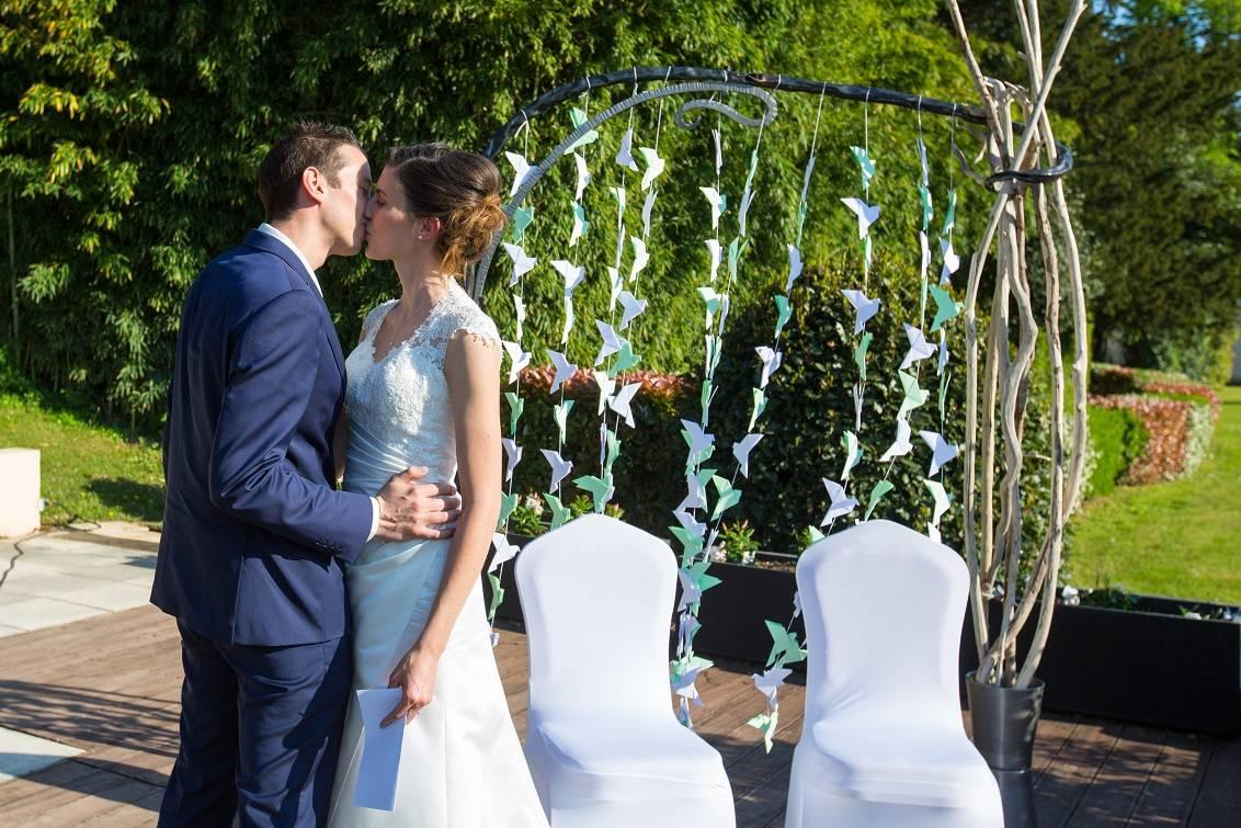 Arche de mariage en fer forg freestyle forge for Arche de jardin fer forge